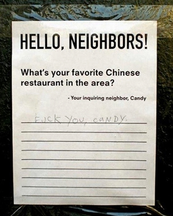 Hello neighbors whats your favorite Chinese restaurant in the area - Imgur